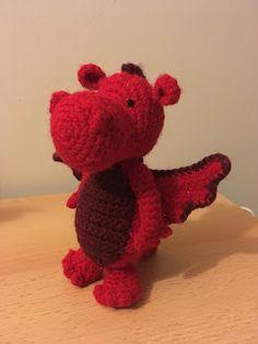 Crochet... Amigurumi : Amigurumi Dragon