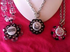 Cheerleader & cheer mom jewelry    http://www.facebook.com/pages/Inspired-By-Jewelry-Wholesale/110254179010658?ref=tn_tnmn