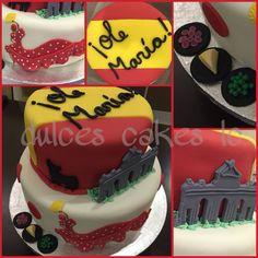 By Ligia Spain cake