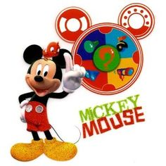 """Mickey Mouse Clubhouse Mousekadoer Mousekatools """"Meeska Mooska Mickey Mouse!"""" Disney Iron On Transfer for T-Shirt"""