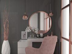 Rose Gold Home Decor Inspirational Rose Gold Vip House Beverly Hills On Behance Interior, Home Decor Bedroom, Rose Gold Room Decor, Room Inspiration, Gold Home Decor, Room Decor, Cute Room Decor, Home Interior Design, Girl Bedroom Decor