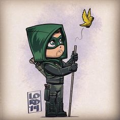 Canary, you flew away too soon. You'll be missed. #Arrow  Credit: http://lordmesa-art.tumblr.com