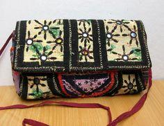 Handbag /colorful bag / banjara bag/ gypsy bag/ purse /tribal bag/ clutch/  embroidered bag/ party bag/ gift item.
