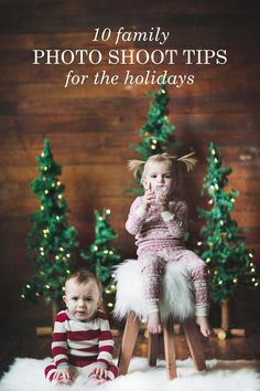Get ideas and tips for taking your family photo for your holiday cards this year. You'll be taking your best ever Christmas card photo in no time!
