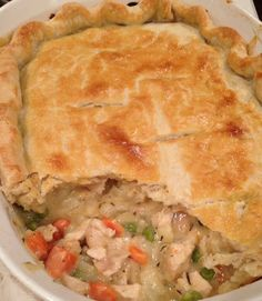 Chicken Pot Pie Filling, Best Chicken Pot Pie, Cream Of Chicken Soup, Taste Of Home Chicken Pot Pie Recipe, Creamy Chicken, Pie Recipes, Cooking Recipes, Chicken Recipes, Quick Recipes