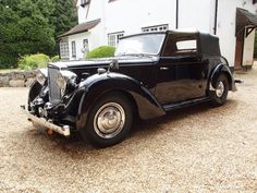 1948 Alvis TA14 Carbodies drophead coupe
