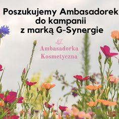 @ambasadorka_kosmetyczna #gsynergie #naturalnepiekno