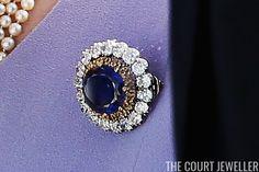 Queen Elizabeth's Sapphire Brooches | The Court Jeweller