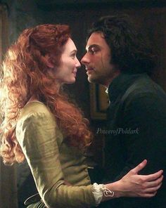 Just loves the way he looks at her. Poldark.