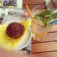 Antwerpen - De Dikke kat (koffie en lunch)