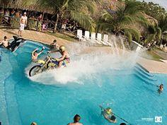 Travis Pastrana On Water....motocross..remeber this episode on Nitro Circus..pretty epic!!