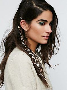 Free People Luxe Floral Braid In at Free People Clothing Boutique