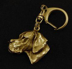 Basset Vendeen Prestige Set Limited Edition ArtDog Petit Basset Griffon Vend/éen Dog Keyring and Necklace in Casket