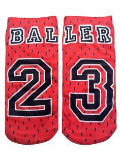 Baller Ankle Socks