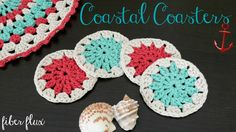 How To Crochet the Coastal Coasters, Episode 326