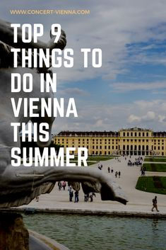 Planning to travel Vienna this summer? There are the top 9 things to do in Vienna, Austria at this time of year! Places In Europe, Places To Travel, Travel Destinations, Vienna Summer, Fun Activities To Do, Austria Travel, Vienna Austria, Plan Your Trip, European Travel