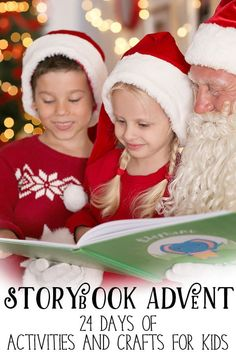 Countdown to Christmas with a storybook advent, 4 weeks of classic children's Christmas books with crafts, activities, and more. #storybookadvent #christmasbooks #christmascrafts #countdowntochristmas #christmas #rainydaymum