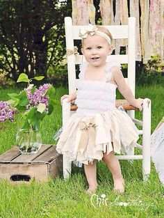Fabric Tutu, CREAM AND SUGAR Vintage Lace Burlap, Shabby Chic Tutu, Baby Tutu, Photo Prop Tutu, Childrens Toddler Infant Tutu, Birthday on Etsy, $34.00