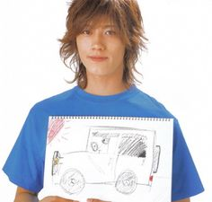 Akanishi Jin, Real People, Actors & Actresses, Pop Culture, Singer, T Shirts For Women, Pisces, Model, Tops