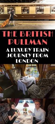 A guide to taking a ride on the Belmond British Pullman train - a luxury train composed of beautifully restored British Pullman train carriages. Find info on its routes, cost, and how to book a trip.