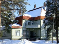 Hermola Finland, Mansions, House Styles, Home Decor, Decoration Home, Room Decor, Fancy Houses, Mansion, Manor Houses
