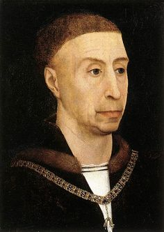 Philip the Good, duke of Burgundy, wearing the collar of the Order of the Golden Fleece. Copy (c. 1520) after Rogier van der Weyden. Oil on panel. Gemäldegalerie, Berlin. Other versions in Antwerp, Madrid, Gotha and Lille.
