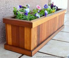 Recycled Pallet Planter                                                                                                                                                                                 More