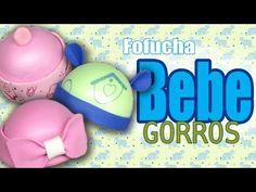 Gorros para fofucha bebe (3 estilos) - Baby fofucha hats (3 styles) - YouTube
