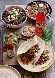 Caroline Velik's soft tacos with smoky shredded pork. Photo by Marina Oliphant.