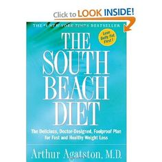 The South Beach Diet: The Delicious, Doctor-Designed, Foolproof Plan for Fast an… South Beach Diet: Delicious, doctor-designed foolproof plan [hardcover] for quick and healthy weight loss By Arthur Agatston Weight Loss Meals, Fast Weight Loss, Healthy Weight Loss, How To Lose Weight Fast, Dr Oz, Good Healthy Recipes, Real Food Recipes, Amazing Recipes, Easy Recipes