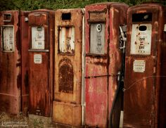 Remember when? Rusty treasures...