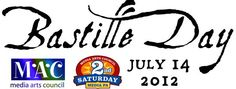 Bastille Day Festival! July 14th, 6:00-10:30pm, downtown Media. Join us for live music, arts demonstration, theatrical performances, outdoor dining and Zydeco dancing in the street! Free & family-friendly.