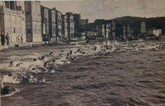 Boğaziçi'nde yüzme yarışı (1935, Anadoluhisarı) #istanbul #istanlook #Boğaziçi #1935 #Anadoluhisarı
