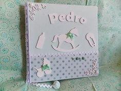 Livro do bebê feito por mim