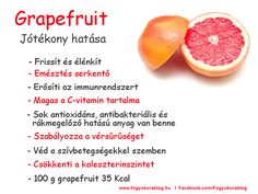 Diet Recipes, Healthy Recipes, Healthy Drinks, Grapefruit, How To Lose Weight Fast, Detox, Healthy Lifestyle, The Cure, Health Care