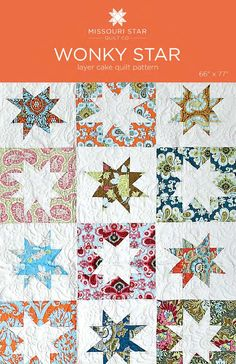 Digital Download - Wonky Star Quilt Pattern from Missouri Star Quilt Co
