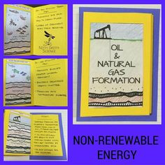 The Earth Science Interactive Notebook: Natural Resources chapter showcase student's ability to: •Explain the main sources of non-renewable and renewable energy •Compare the advantages and disadvantages of types of energy