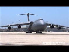 """Air National Guard Lockheed C-5 Galaxy """"Martinsburg"""" [00452] at LAX"""
