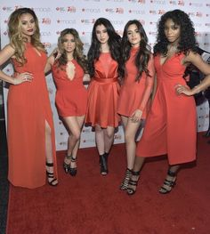 Fifth Harmony Go Red