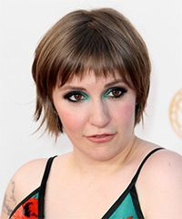 Lena Dunham Hairstyle - click to view hairstyle information
