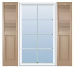 140 best exterior shutters images in 2018 blinds - Raised panel interior window shutters ...