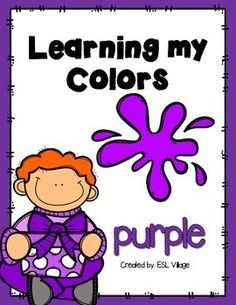COLORS: COLOR OF THE WEEK: COLOR ACTIVITIES: PRINT AND GO ACTIVITIES: KINDERGARTEN: PRE K: PRESCHOOL: PURPLE: PURPLE ACTIVITIES: COLOR PURPLEIt is very important to understand the process of learning when teaching abstract concept like colors.  One of the best ways to help students when mastering their colors is through the use of examples and of course, a lot of repetition.This set has been designed to help your pre-school students when learning their colors and to have fun during the…