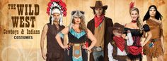 Cowboy & Indian Costumes - Wild West Costumes