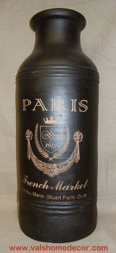 What a great container for a Paris themed room or kitchen!