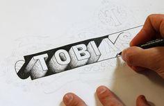 Hand Lettered Logos on Behance