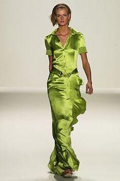 Carolina Herrera Spring 2003 Ready-to-Wear Fashion Show - Jacquetta Wheeler, Carolina Herrera