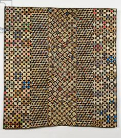 Ridehalgh Quilt Maker:UNKNOWN - 1890 This beautiful and intricate… Old Quilts, Star Quilts, Antique Quilts, Scrappy Quilts, Vintage Quilts, Quilt Blocks, Hexagon Quilt, Hexagons, Civil War Quilts