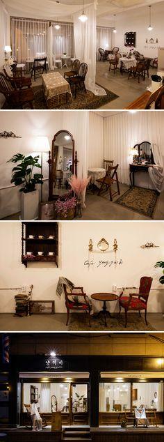 29 Ideas for vintage cafe interior modern Cafe Interior Vintage, Vintage Cafe, Vintage Room, Bedroom Vintage, Modern Interior, White Cafe, Modern Cafe, Modern Vintage Boutique, Boutique Decor
