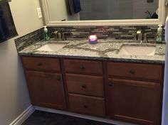Bathroom Remodel by Jt interiors, using Cambria quarts Galloway