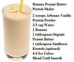 Arbonne Banana Peanut Butter Protein Shake! Vanilla protein shake powder at www.katiesloan.arbonneinternational.com Shop Australia, Canada, USA, UK and Poland with ID 613110992
